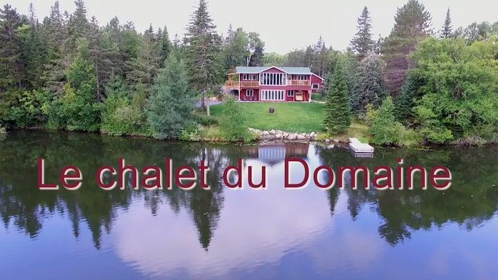 Chalet du Domaine Gagnon/ Membre CITQ : 298289