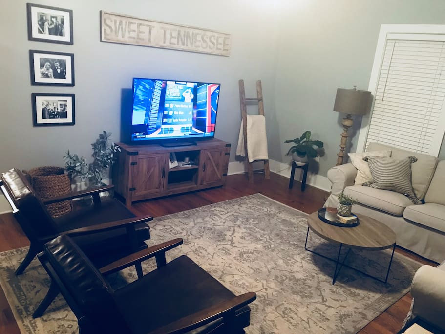 Living room (55inch smart tv)