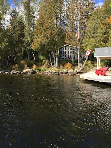Private Lakefront Cottage, Muskoka - Huntsville - Cabin