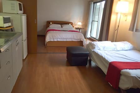 New open Downtown executive apartment - Shimogyo Ward, Kyoto - Appartement
