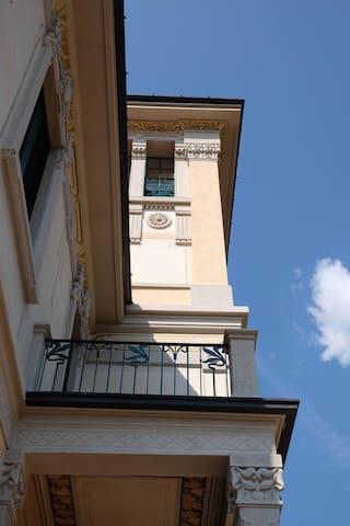 Villa Floreal - Studio Gourmet: der Balkon