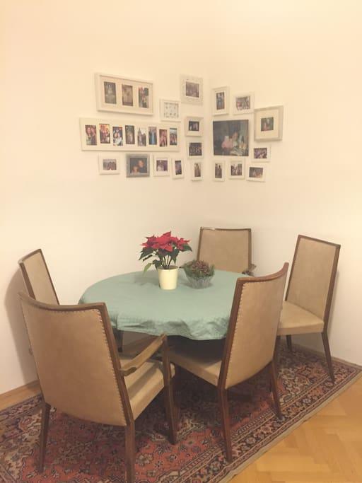 Dinning area, living room