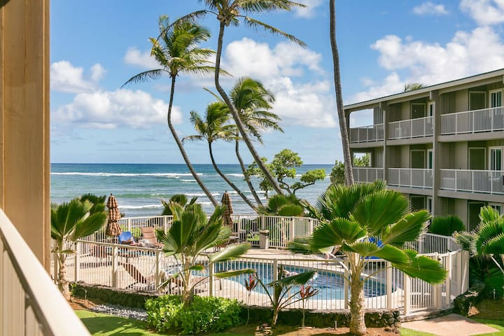 2 Bedroom Ocean Breeze Kapaa Condo with Pool
