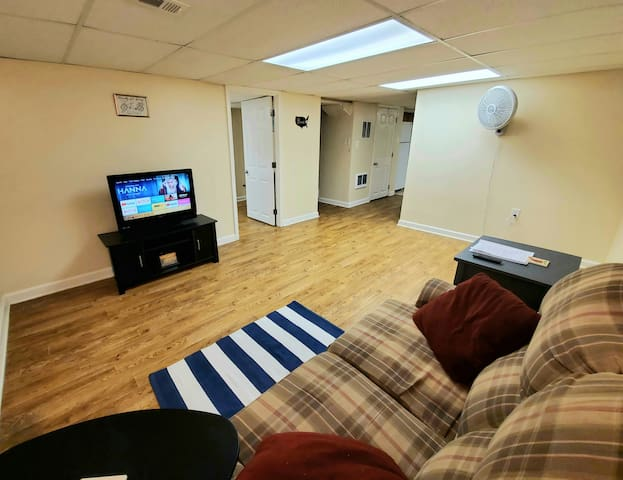 Private Basement Apartment Near BWI and Baltimore