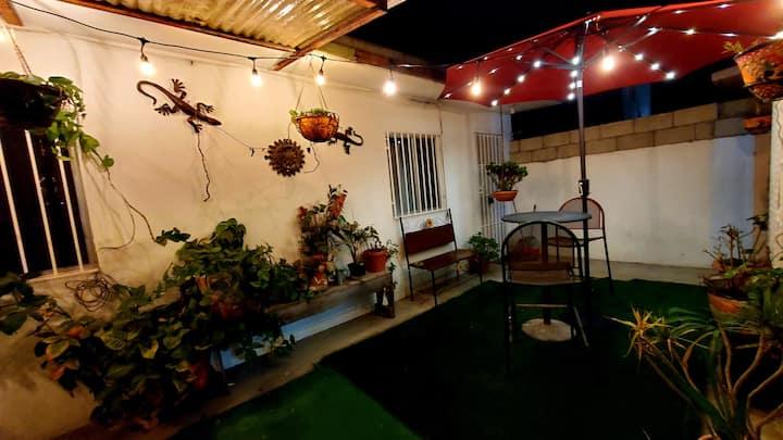 """Barlovento"" Studio en tranquila zona residencial."