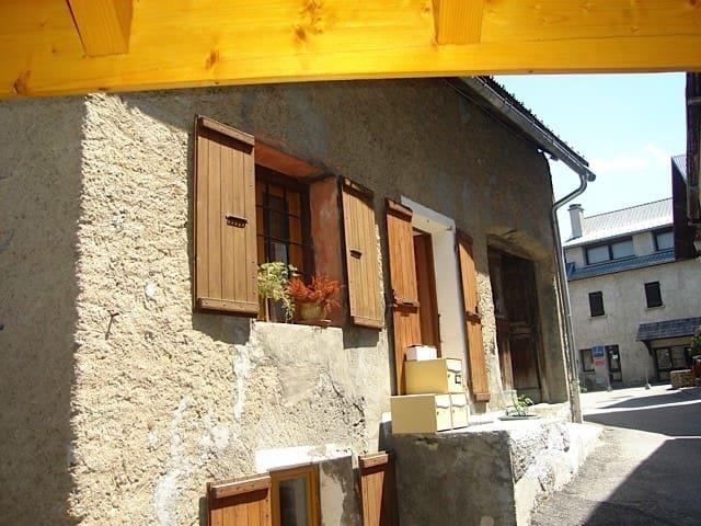 petit duplex cosy dans maison - Mont-de-Lans - Apartemen