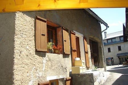 petit duplex cosy dans maison - Mont-de-Lans - Apartmen