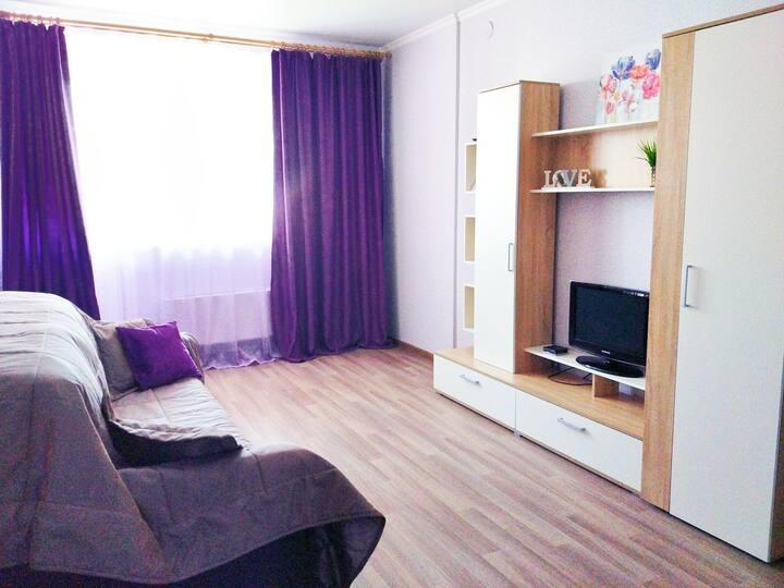 Метро пр.Победы 2мин Уютная однокомнатная квартира