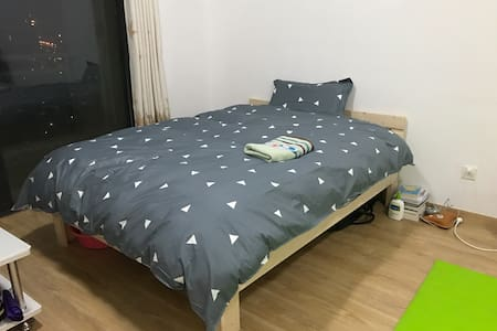 Warm cozy apt 1 min to subway! - Shanghai