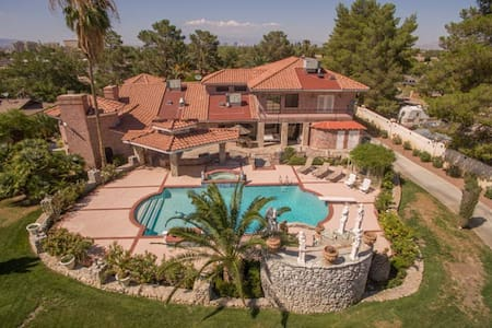 Resort Style Estate Home Near Strip - Las Vegas - Hus