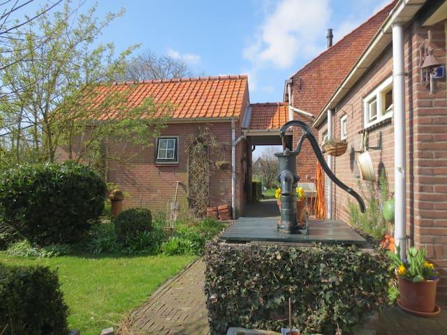 Tuinhuisje buitenaf, Midden Zeeland - Lewedorp