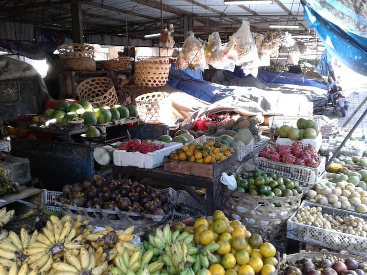 Traditional Market visit