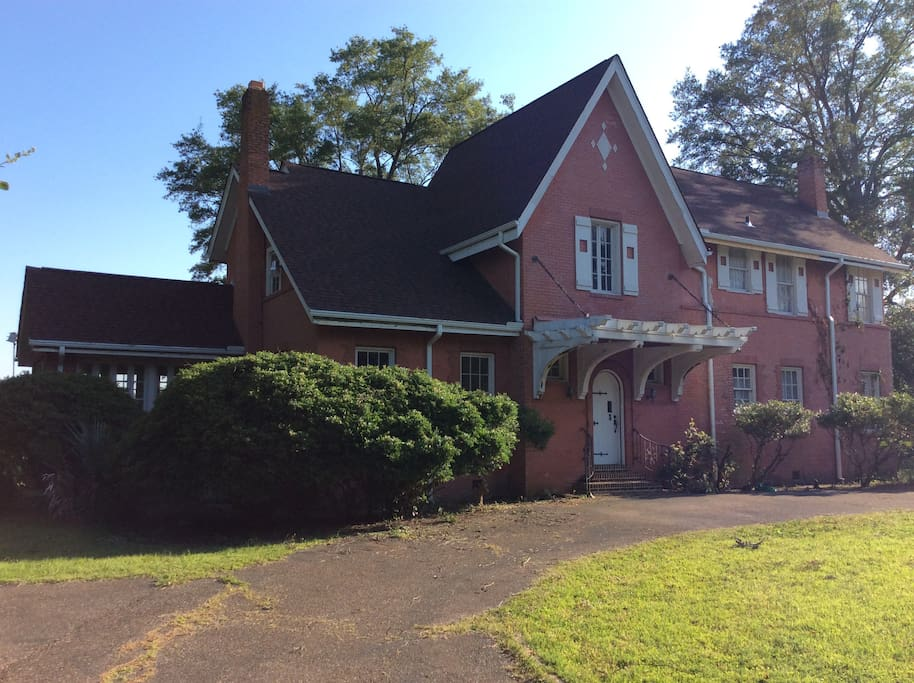 Front of Honey Hill main house