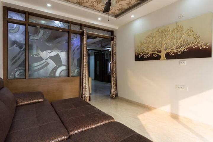 Dorm Style Sofa Bedroom in Delhi for Backpackers. - New Delhi - Appartement