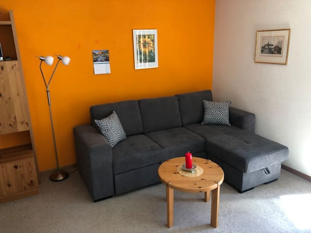 Kleine gepflegte Wohnung für Naturmenschen