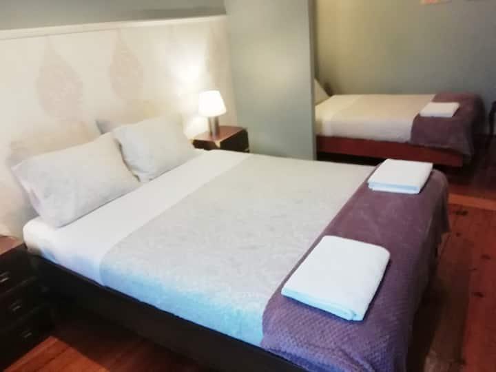 Casa Azul Hostel - Quarto Rosa
