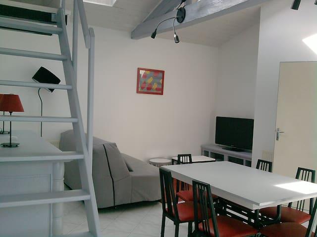 Maison T2, 6 couchages avec garage/terrase