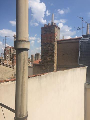 Studio sous les toits de Bellecour