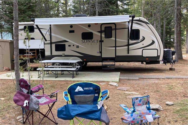 Becky's #2 Island Park Sunset Trail Camper