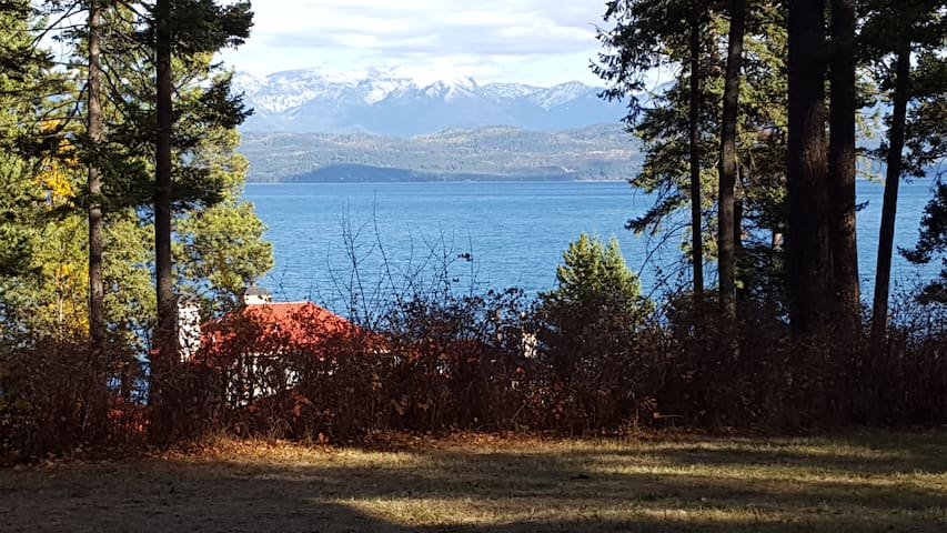 Walked out your front door today to a snow capped mountain view!