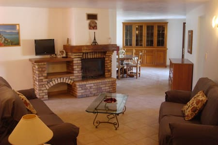 Grand appartement rdc villa pour 9/10 personnes - Furiani - Wohnung