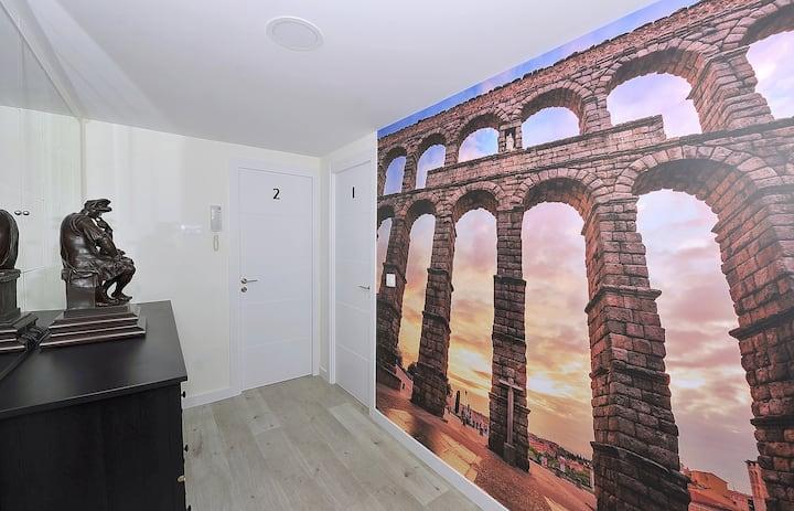 """Apartamento familiar junto al Centro Histórico"""