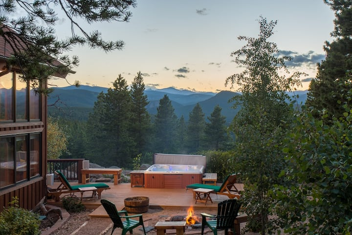 54 acre secluded Romantic Mountain Retreat