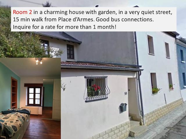 house: quiet, garden, charming, nearby center, rm2 - Luxembourg - House
