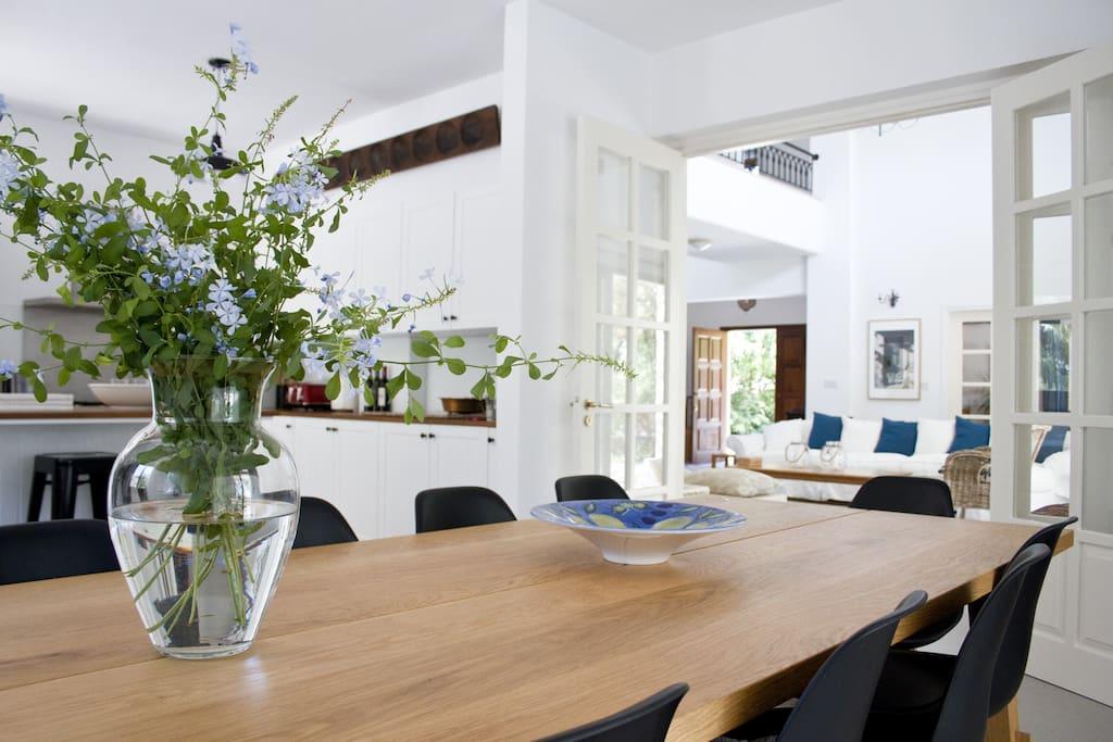 All our guests love the spacious, bright feel of Villa Meraki!