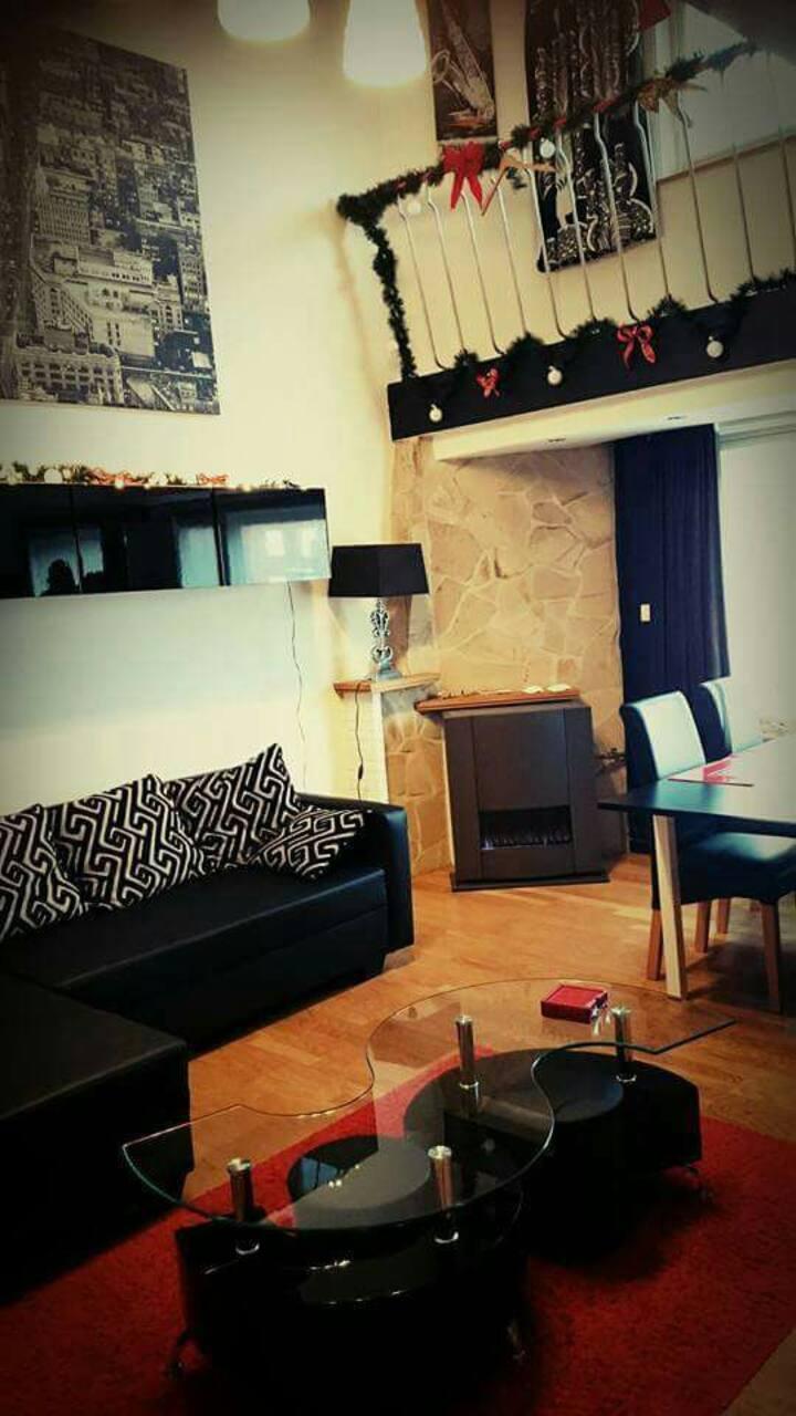 Appartement Loft 4-5 pers.tout confort à Coxyde