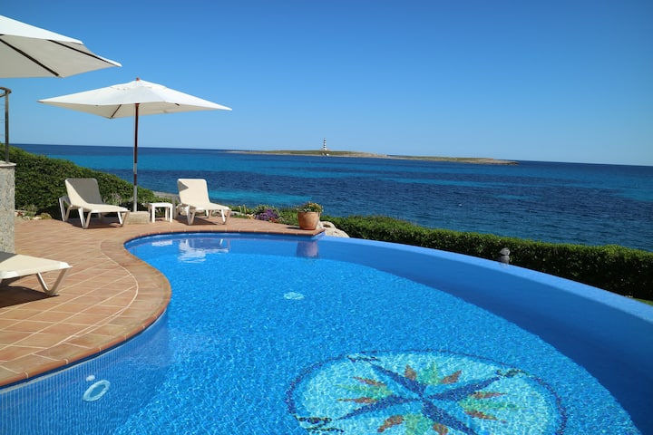 Suite PALMERA, sul mare con piscina CASA MILOS B&B