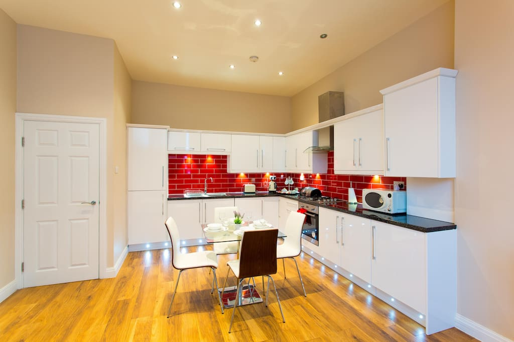 Stylish and fully functional kitchen