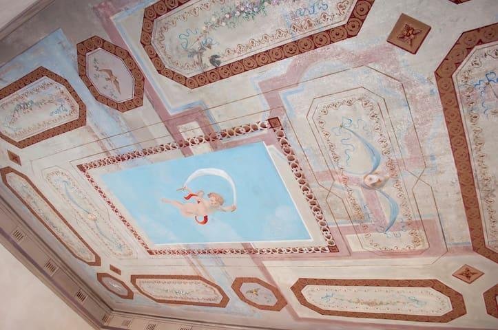 Rome Castel Nepi Home Room Farnese Near Colosseum