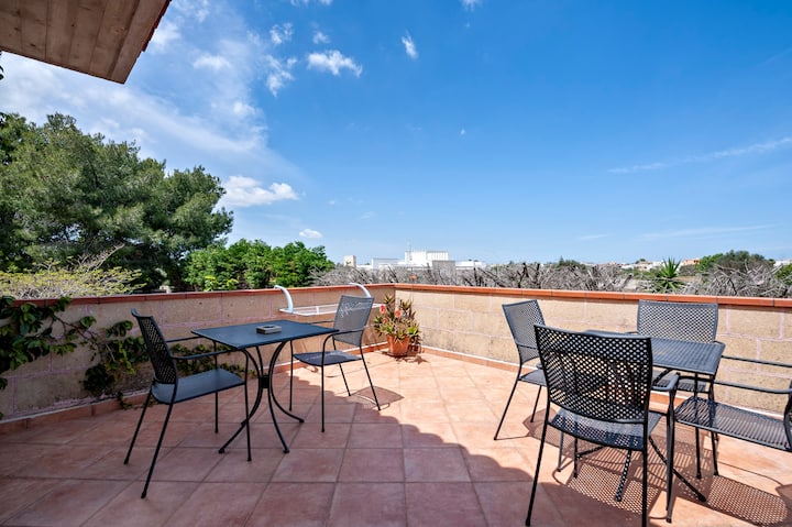 Apartment A - in Villa