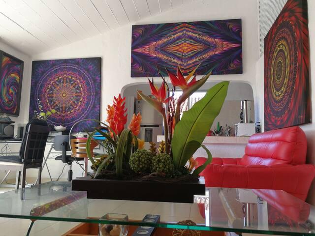 Habitación en Penthouse Art & Relax