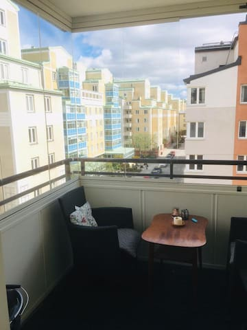 Spacious room in the heart of Södermalm