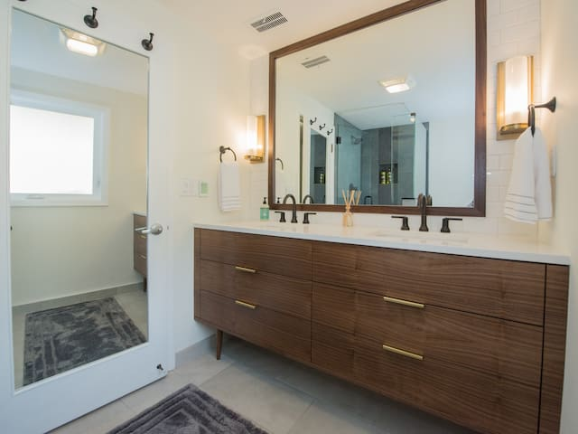 Recently fully remodeled bathroom!
