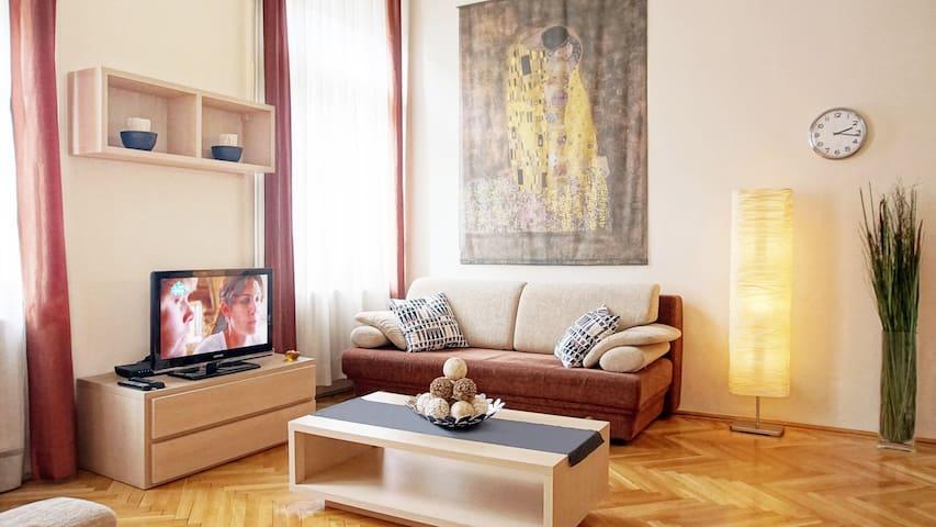 City Center DeLux Apartment by Parliament - S22 - Budapešť - Byt