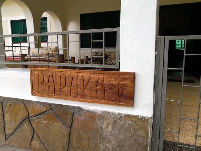 Willkommen in der Villa Papaya