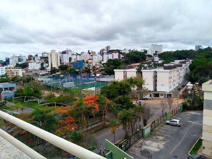 Quarto em cobertura próximo a UFMG e Mineirão