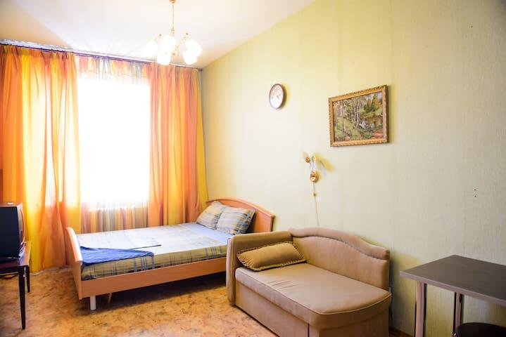 Уютная квартира на Тиманской - Ukhta - Apartamento
