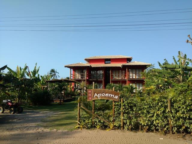 Pousada Apoema - Suíte 1 - Barra Grande - Bed & Breakfast