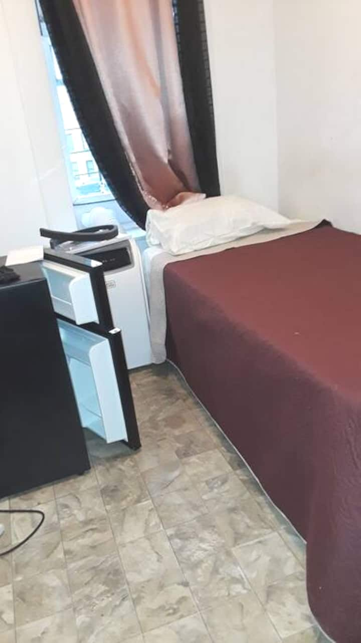 A furnished small room with private entrance