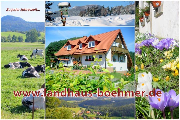 Landhaus Böhmer Zittauer Gebirge - Waltersdorf - Apartmen