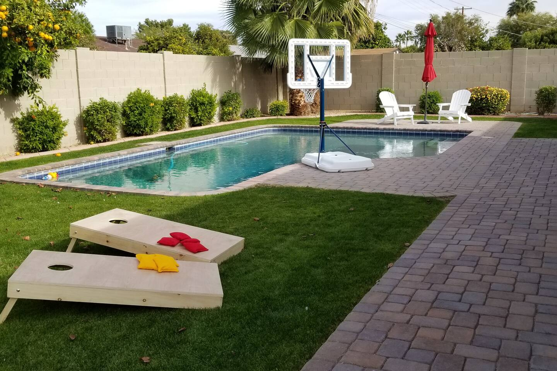 Pool House Corn-Hole