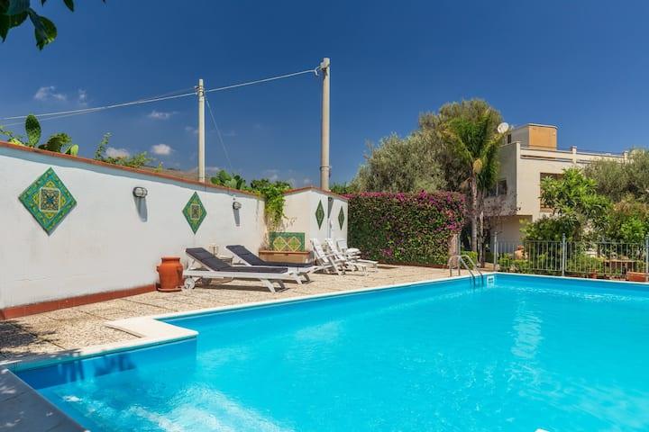 Villa Conca d'Oro with Pool