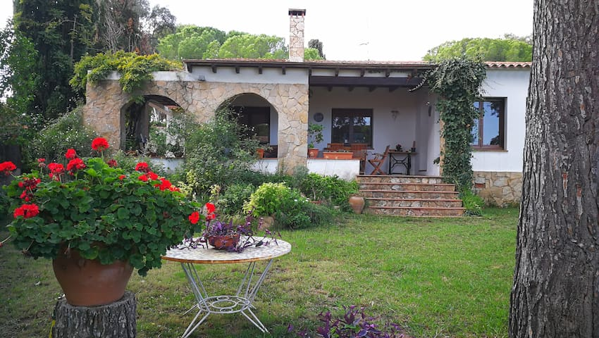 Casa amb jardí Costa Brava