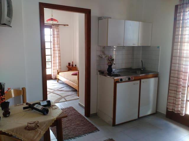 #1p seaside apartment near Iraklion (K. Gouves) - Kato Gouves - Apartamento