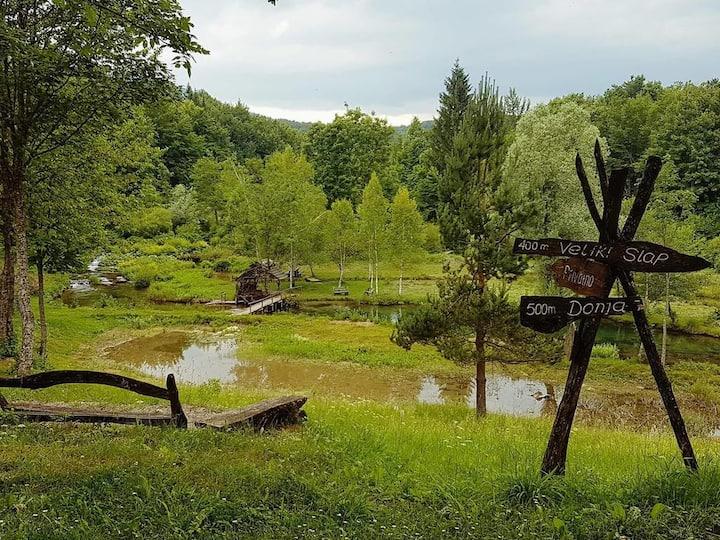 Plitvica River House