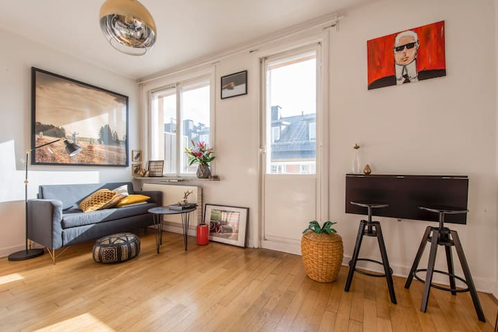 Design studio-apartment in the heart of Södermalm